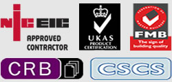 niceic electricians bolton fmb registered builders bolton crb checked and cscs registered