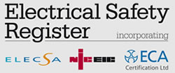 james gallagher ltd are on the electrical safety register